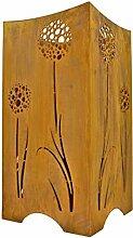 Rostikal | Feuerkorb mit Pusteblumen | Feuerstelle