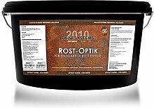 Rostoptik Wandfarbe-Rosteffekt 2 x 2,0 Liter+