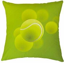 Rosy Wolken Tennis Ball Design Polyester