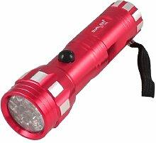 Rot 80 Lumen Mini-Taschenlampe, LED-Taschenlampe, mit Nylon-Saiten