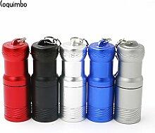 Rot, Coquimbo Mini-Taschenlampe, 2000Lumen, XM-L T6-durch 1x CR123A oder 14500Akku-Taschenlampe/Schlüsselanhänger, helles,