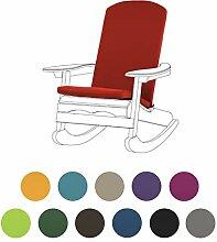 Rot Garten Kissen für Adirondack Stühle mit