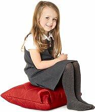 Rot, gesteppte, wasserabweisende Kissen Sitzsack