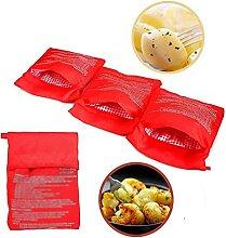 Rot Mikrowelle Tasche Tasche Backen Werkzeug