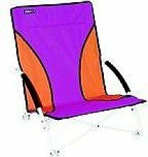 ROT /ORANGER - STABIELO - FALTSTUHL STRAND - 64,5 x 55 x 64 cm - VERTRIEB durch - Holly ® Produkte STABIELO ® - holly-sunshade ® - patentierte Innovationen im Bereich mobiler universeller Sonnenschutz - Made in Germany -