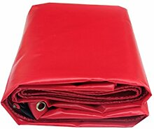 Rot Pvc-beschichtetes Tuch Regendicht Dach Tuch