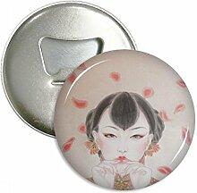Rot Traditionelle Chinesische Schönheit Malerei