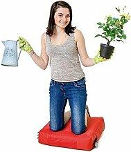 Rot Wasserabweisende Outdoor Gadren Workshop DIY kniend Pad Sitzsack mit Griff und Taschen