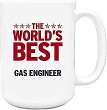 Rot Worlds Best Gas Ingenieur Big 444ml Becher 144