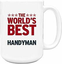 Rot Worlds Best Heimwerker Big 444ml Becher 154