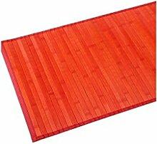 Rote Bambusmatte 75X175