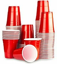 Rote Bechern 1000 x Red Cups - Beer Pong Party