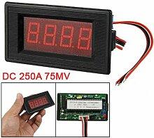 Rote Lampe Display Ampere Gauge Panel Meter DC