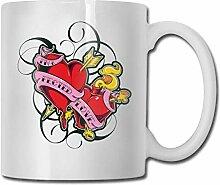 Rote Pfeile Mode Kaffeetasse Porzellan Tassen