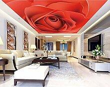 Rote Rose Wandbilder Benutzerdefinierte Decke