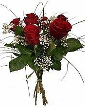 Rote Rosen/Blumenstrauß mit Rosen in Rot