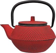 Rote Teekanne aus Gusseisen - Gusseisen - 13,5 x