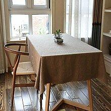 Rote Tischdecke, Dicke Rutschfeste Tischdecke,