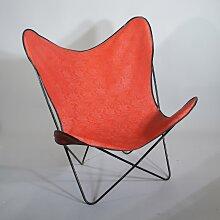 Roter Butterfly Chair von Antonio Bonet, Juan
