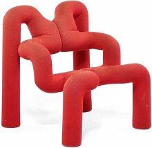 Roter Extreme Stuhl von Terje Ekstrøm für