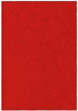 Roter waschbarer beklabito-teppich