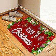 Roter Weihnachtsstrumpf-Druck,