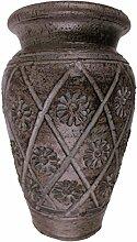 Rotfuchs® Tonvase Bodenvas Blumenvase aus Ton 20