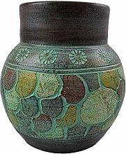 Rotfuchs Vase Bodenvase Tonvase Teracottavase