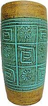 Rotfuchs Vase Tonvase Teracottavase Blumenvase aus