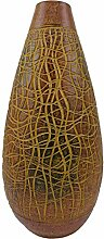 Rotfuchs Vase Tonvase Teracottavase Blumenvase