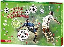 ROTH Puzzle-Adventskalender für Jungen und