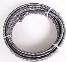 Rothenberger Rohrreinigungsspirale 8 / 10 mm, Durchmesser 8 mm x 10 m, 1 Stück, 72414
