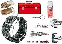 Rothenberger Spiralen und Werkzeuge Set 072962X