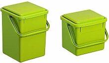 Rotho Bio, Abfallbehälter für die Küche aus