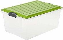 Rotho Compact Aufbewahrungsbox 38 l mit Deckel,