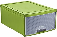 Rotho Frontbox Schubladenbox, Kunststoff (PP),