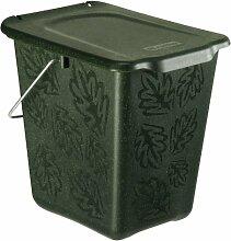 Rotho Kompost Eimer GREENLINE, Bio Mülleimer für