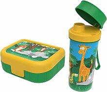 Rotho Memory Kids Set Brotdose mit Trinkflasche ,