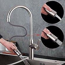 Rotierenden Küchenarmatur Edelstahl Wasserhahn
