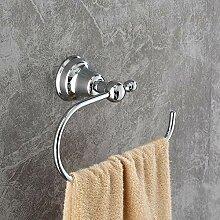 ROTOOY Handtuchringe Handtuchhalter Helles Chrom