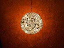 Rotpfeil Dekokugel mit 10 Ricebulbs - Weiß - Weihnachtsbeleuchtung/Dekobeleuchtung