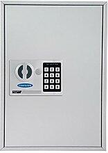 Rottner S50 Elektronik Schlüsselschrank, hellgrau, T06019