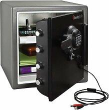 Rottner Sentry Fire Doku USB Feuerschutztresor mit Elektronikschloss und USB Anschluss T05576