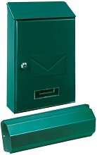 Rottner Tresor Briefkasten Torino Set grün mit