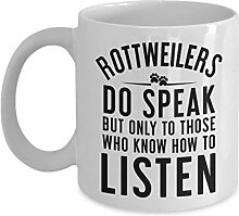 Rottweiler Mug Gift For Dog Owners Saying
