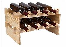 Rotwein Regal Massivholz überlagert Weinregal Holz Weinkabinett Europäischen Weinregal Weinregal ( größe : M )