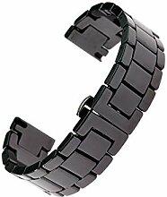 ROUHO Uhr Mit Keramikgürtel Für Apple Samsung