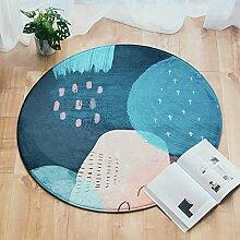 Round Mode Teppich Modernes Design Wohnzimmer