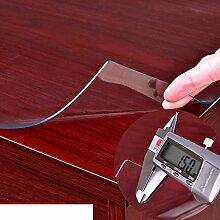 round pads/transparent,weichglas/pvc,kristall-teller,weichglas tischdecke/wasserdicht],burn-proof,Öl-beweis,wegwerfauflage/untersetzer-A Durchmesser80cm(31inch)