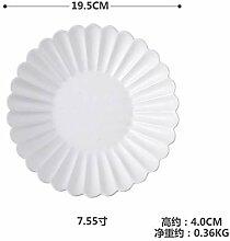 Round Western Teller Farbe Schüssel Schüssel